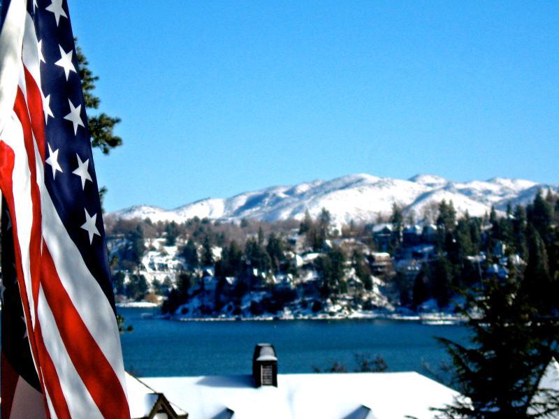 From Balcony - Spectacular Lake n Village View - Beach Pass -WiFi - Lake Arrowhead - rentals