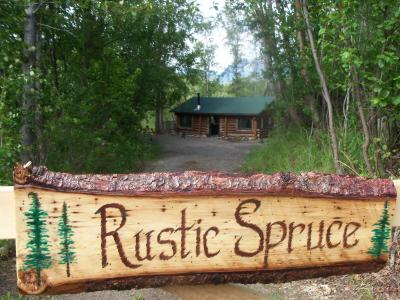 Open the Gate to Rustic Spruce Log Cabin and let your adventure in Alaska begin! - Alaska Rustic Spruce Cabin on 30 Mile Lake - Chickaloon - rentals