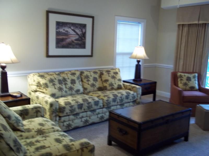 Living Room - Tupelo Villa  golf + beach   south of myrtle beach - Garden City Beach - rentals