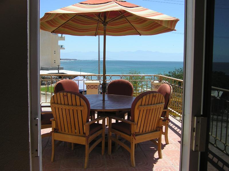 VIEW FROM UPPER DECK - Spectacular Home in Punta de Mita Premier Location - Punta de Mita - rentals