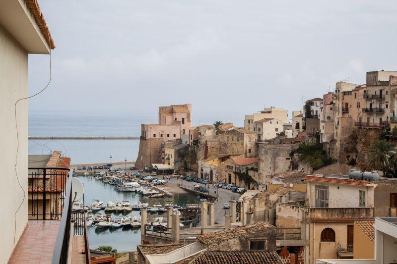 view on the sea - Terrace and view on the castle - Castellammare del Golfo - rentals