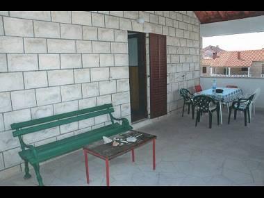 A1(6): terrace - 8143 A1(6) - Supetar - Supetar - rentals