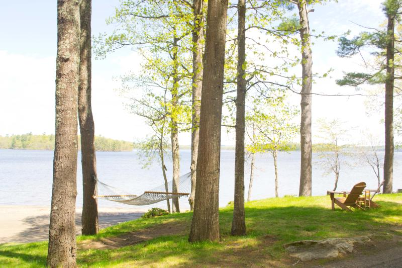 View from cottage - Family Friendly Cottage on Androscoggin Lake - Leeds - rentals