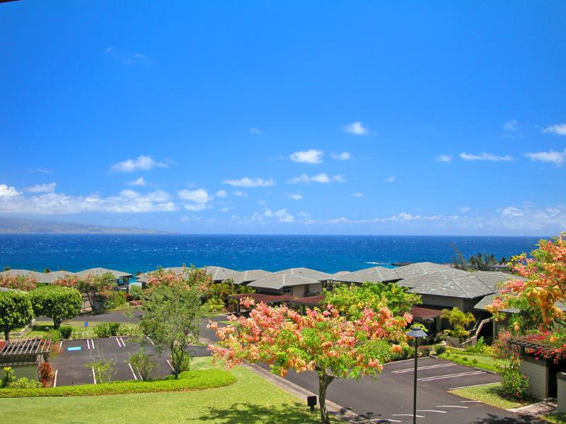 Majestic ocean views from private lanai perfect for whale watching, quiet dining, close to pool - Ocean views, Affordable Kapalua Lurury - Lahaina - rentals