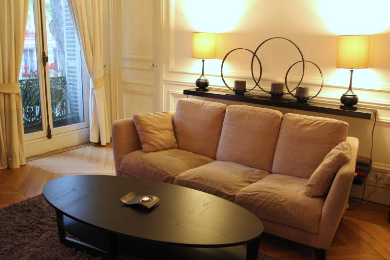 Living room on Bd St Germain - 2-Bd. Bvd. St. Germain Perfect for Museum Lovers - Paris - rentals