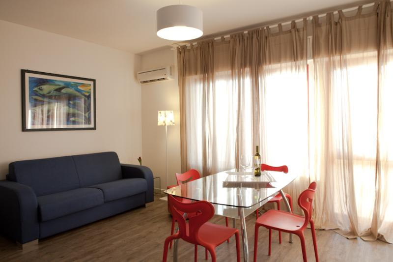 Living room - The terrace overlooking the sea - Trapani - rentals