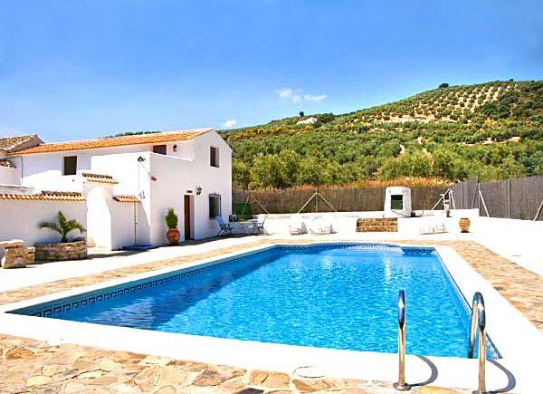 Cortijo Las Olivas - sleeps up to 11 - near Lakes - Image 1 - Iznajar - rentals