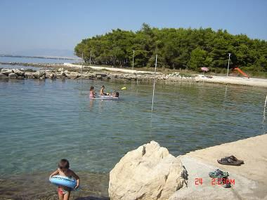 beach - 8272 Studio(2+1) - Privlaka - Privlaka - rentals