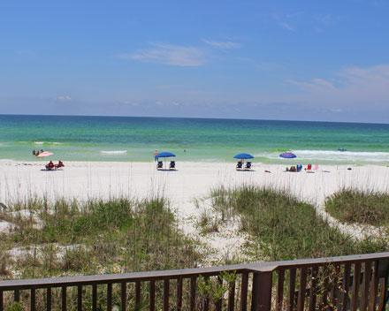 Seawinds #9 beach front 1 bedroom, 2 bath townhome! - Seawinds #9 Beach front townhome - Miramar Beach - rentals