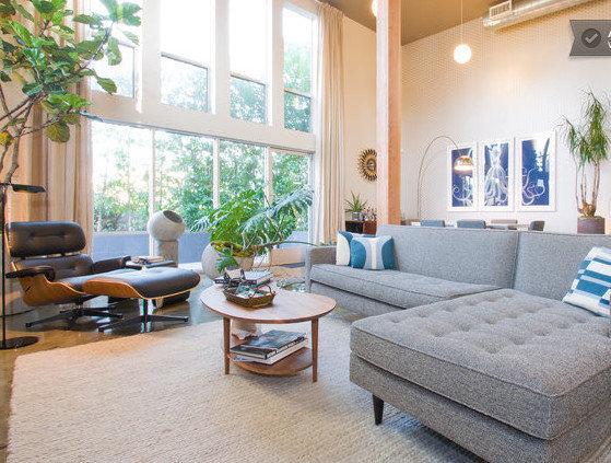 living room - Marina Del Rey Private Luxury Loft - Close 2 Beach - Marina del Rey - rentals