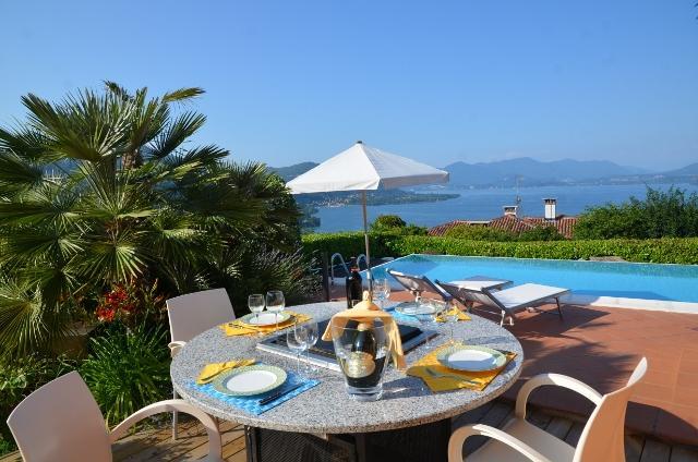 grill table - villa lake maggiore - Meina - rentals