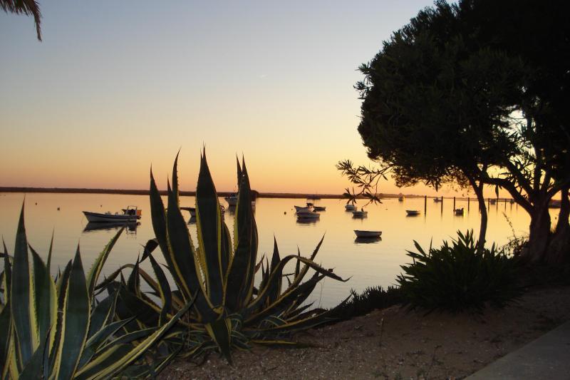 Beach front at Cabanas at twilight. - 55,Costa de Cabanas,Cabanas de Tavira,Portugal. - Cabanas de Tavira - rentals