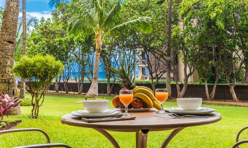 Ocean view Condo 110  Kaanapali Shores- Newly renovated & decorated and Includes every amenity - Image 1 - Lahaina - rentals