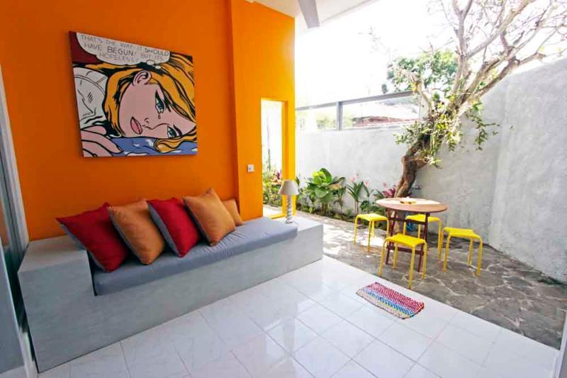 Living room ! - BALIPOP Apartment 2br SEMINYAK 300m from the beach - Seminyak - rentals