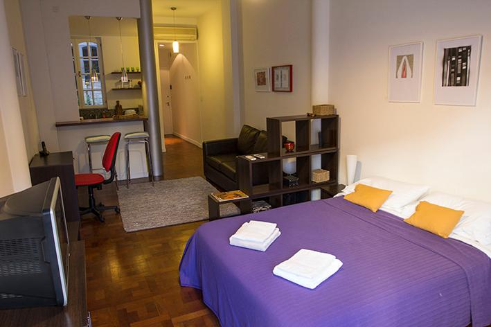 Nice renovated Studio with balcony in Recoleta - Image 1 - Buenos Aires - rentals