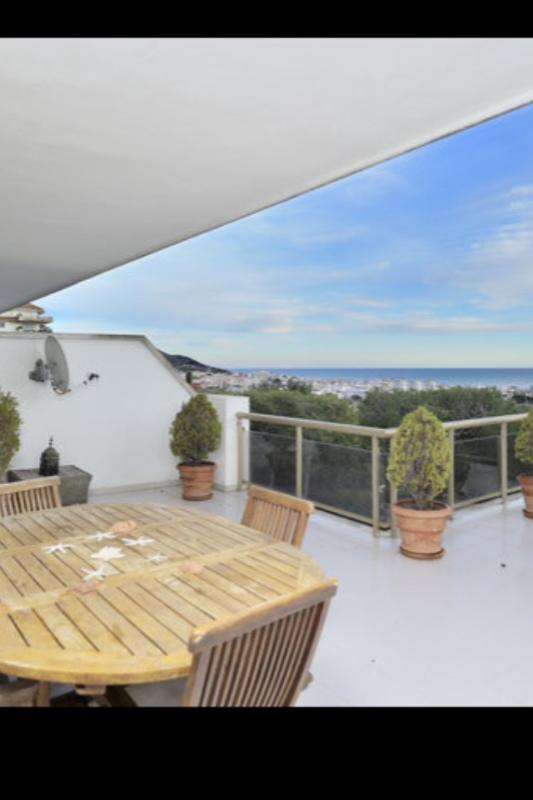Apartment In A Luxury Zone With Pool And Garden, Huge Terrace Of 70sq.m With Ocean View - Image 1 - Sitges - rentals
