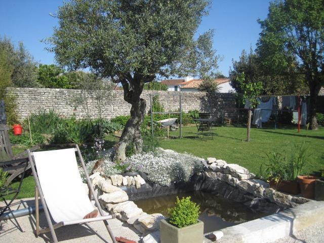 garden - la casa Mamita - Le Bois-Plage-en-Re - rentals