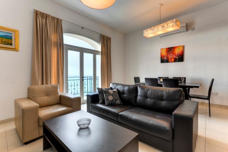 Impressive Views, Seafront, St Julians Apartment - Image 1 - Saint Julian's - rentals