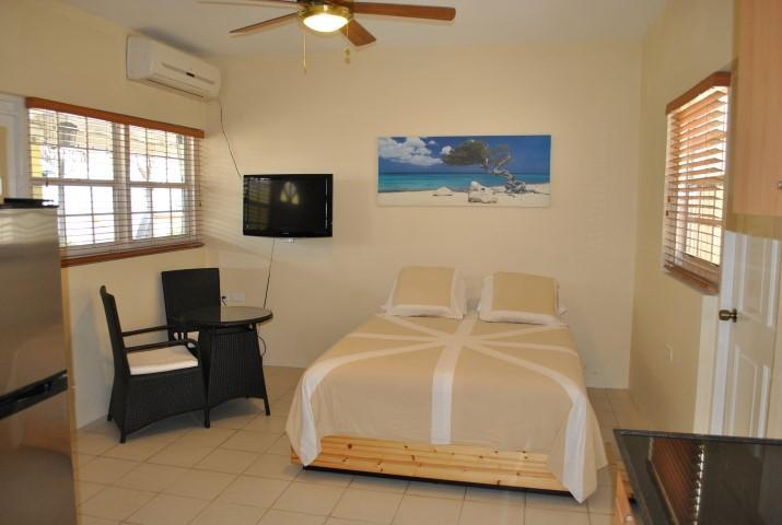 Queen bed - Studio apt with pool clote 2 everything Aruba 12F - Oranjestad - rentals