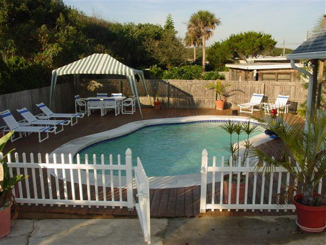 813 Hope Ave. 1/2 block to beach private pool home - Image 1 - New Smyrna Beach - rentals
