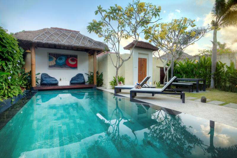 pool with garden - Private 2br Villa - Seminyak with big pool garden - Seminyak - rentals