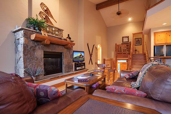 Waterstone Townhomes Living Room - 2748 Waterstone - Steamboat Springs - rentals