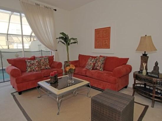 Living Room - Beautiful 3 Bedroom 3 Bathroom Resort Townhome - Orlando - rentals