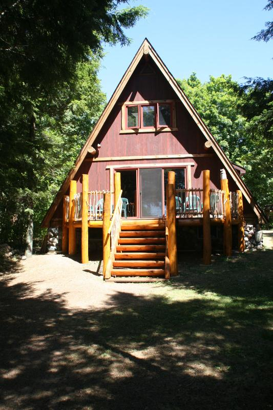 View from lake - Butternut Lake A-Frame - Three Lakes - rentals