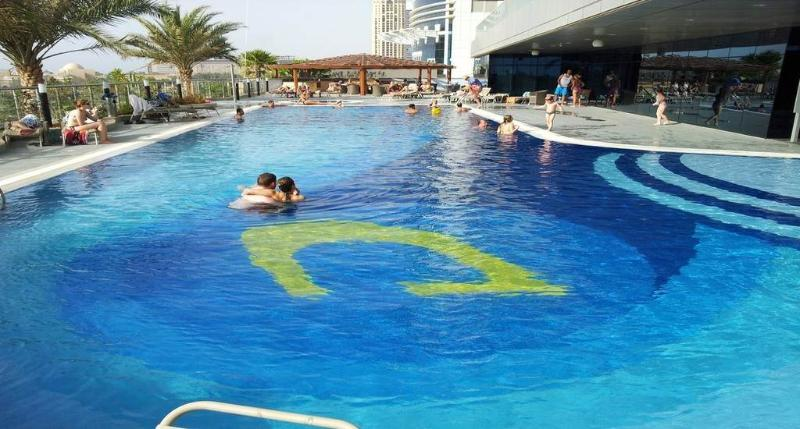 our private pool - Luxury apartment for 4-6 pax front sea and Jumeira Palm nice sea view - Dubai - rentals