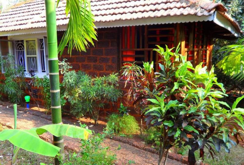 Cottage London 4 along Coconut & Banana Tree's - Image 1 - Gokarna - rentals