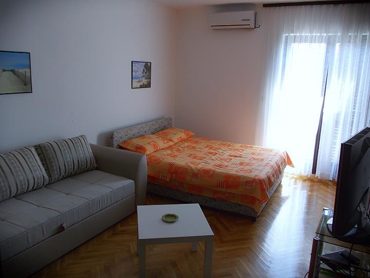 Bedroom - 5' Walk from Old Town And Beaches - Budva - rentals