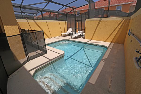 PARADISE PALMS RESORT ORLANDO MF- 4 Bedroom/3 bath pool and lanai - Image 1 - Kissimmee - rentals