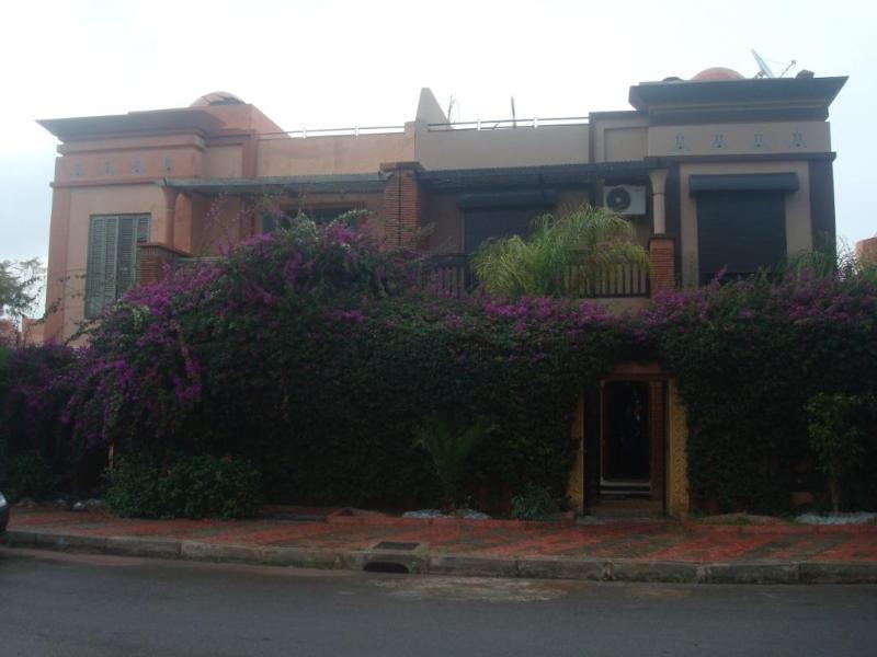 villa from outside - villa Marrakech charm - Had Abdallah Rhiat - rentals