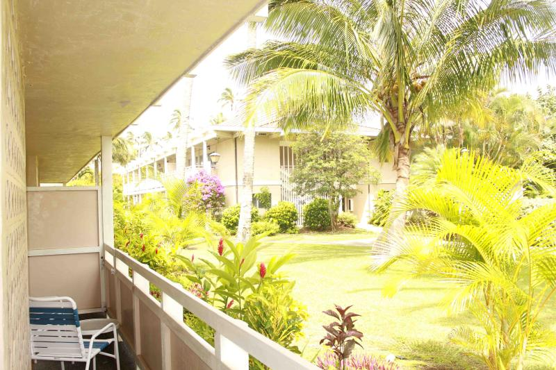 View from Lanai - Plantation Hale Unit C7 - Wailua Condo - Kapaa - rentals
