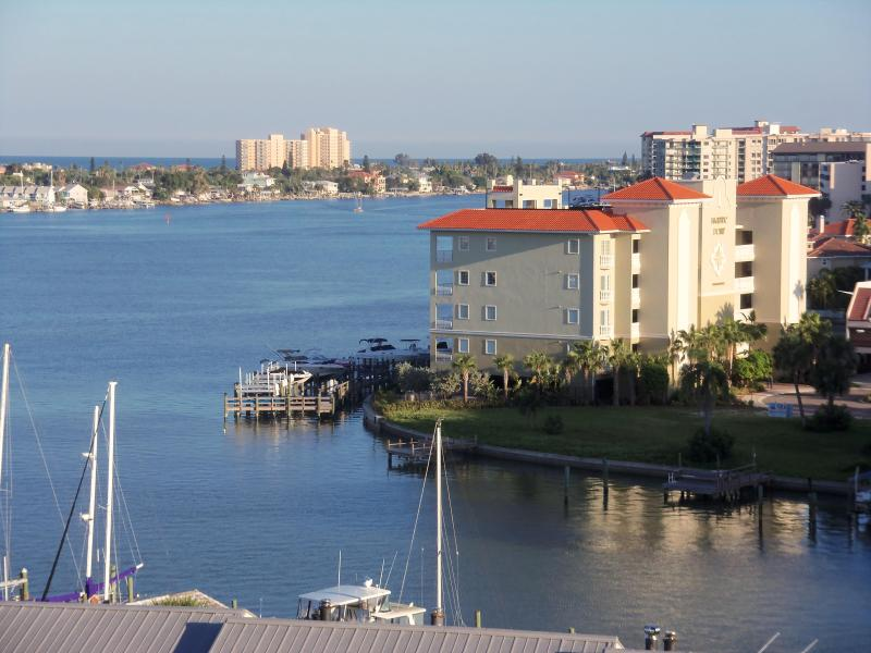 View from the living room 9th floor - beautiful condo with magnificent views of mandalay - Clearwater - rentals