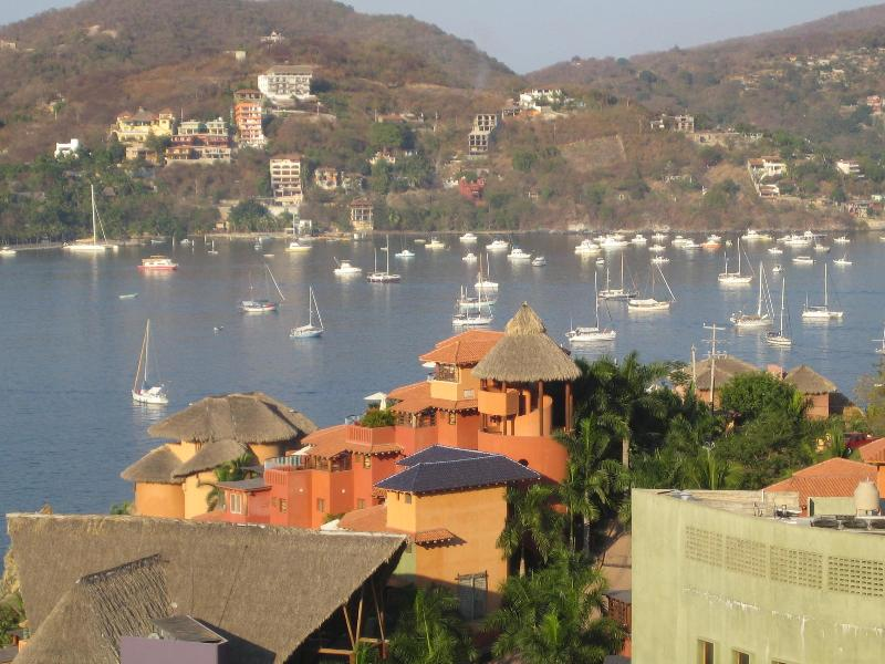from your terrace - Condo with fantastic view of Zihuatanejo Bay - Zihuatanejo - rentals