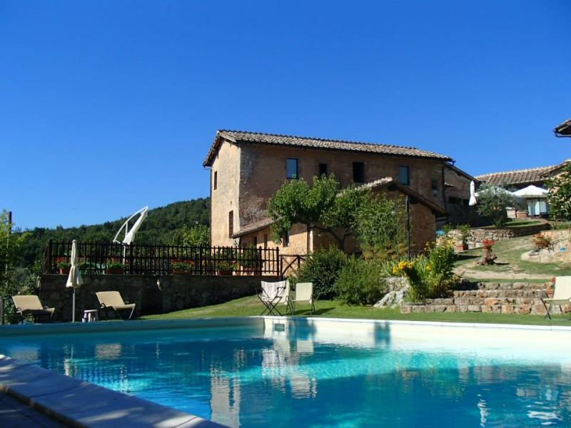 Farm apartment Il Fienile in Siena countryside - Image 1 - Siena - rentals