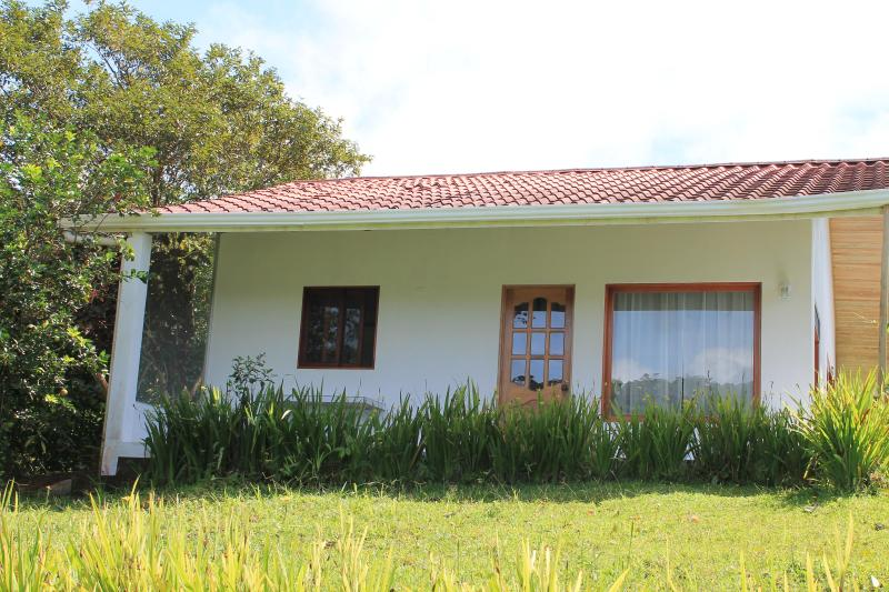 Front Entrance - Blue Butterfly Cottage --- Private and Tranquil - Nuevo Arenal - rentals