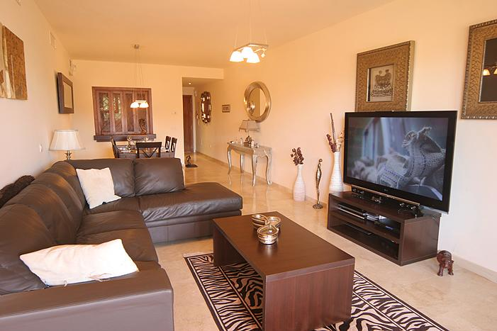 living dining room - Luxury Penthouse With Roof Top Jacuzzi Close To Marbella - Estepona - rentals