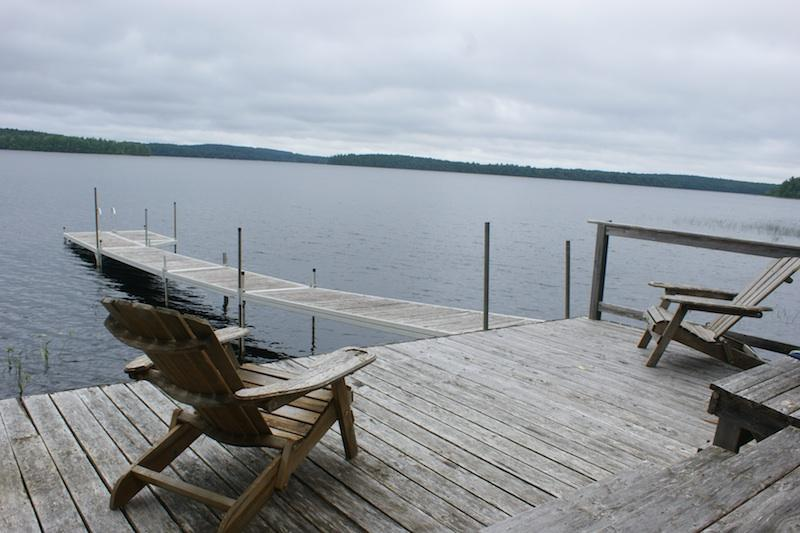 Right on the lake, take the paddle boat and go! - The Moosehorn Cabin- family cabin at Ponhook Lake - Caledonia - rentals