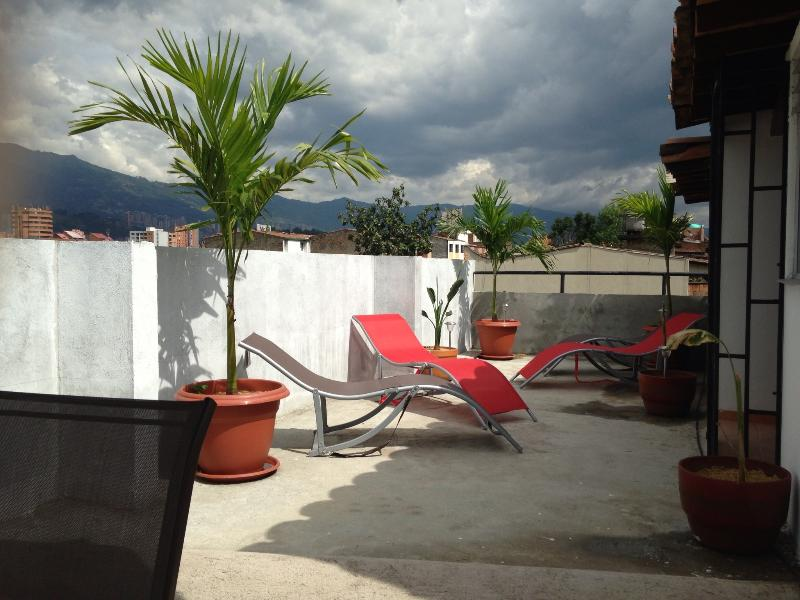 New Apartment with Rooftop Terrace Near Medellin Stadium - Image 1 - Medellin - rentals