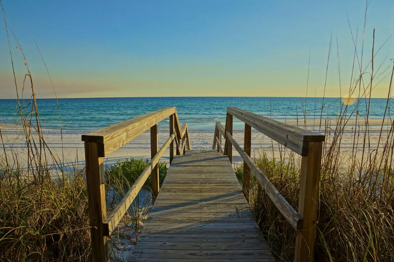 Walk out to the Emerald Green Waters of Miramar Beach - Costa Del Sol B3, Paradise on Miramar Beach - Miramar Beach - rentals