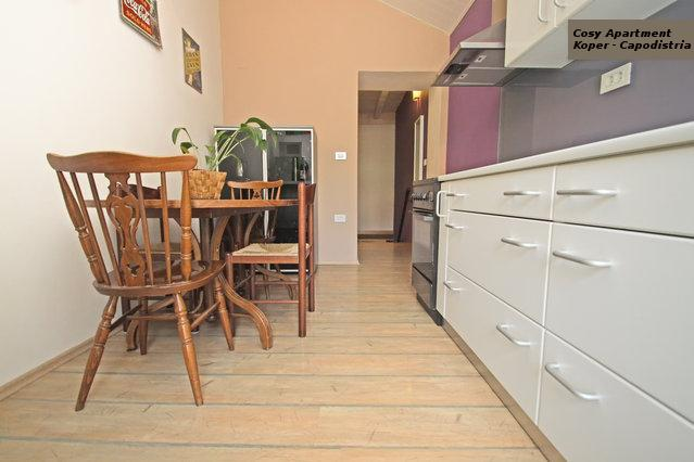 kitchen and dining room - Apartment near the sea in old center of Koper - Koper - rentals