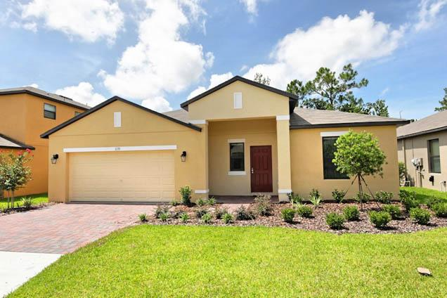 Front of Home - Cypress Pointe 5 Bed South Facing Pool (1139-CYP) - Davenport - rentals