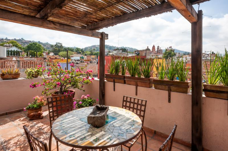 Roof top terrace - Charming Casita #3, San Miguel de Allende - San Miguel de Allende - rentals