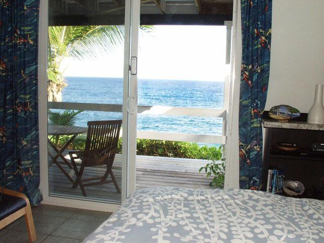 Oceanfront studio in tropical area, near beach - Image 1 - Pahoa - rentals