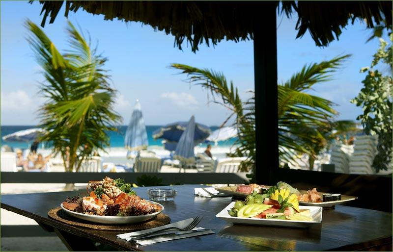 Esmeralda Villa guests enjoy  Coco Beach Bar Offers great meals and drinks on the beach - ESMERALDA VILLAS... affordable retreat for a family or group of friends on Orient Beach! - Saint Martin-Sint Maarten - rentals