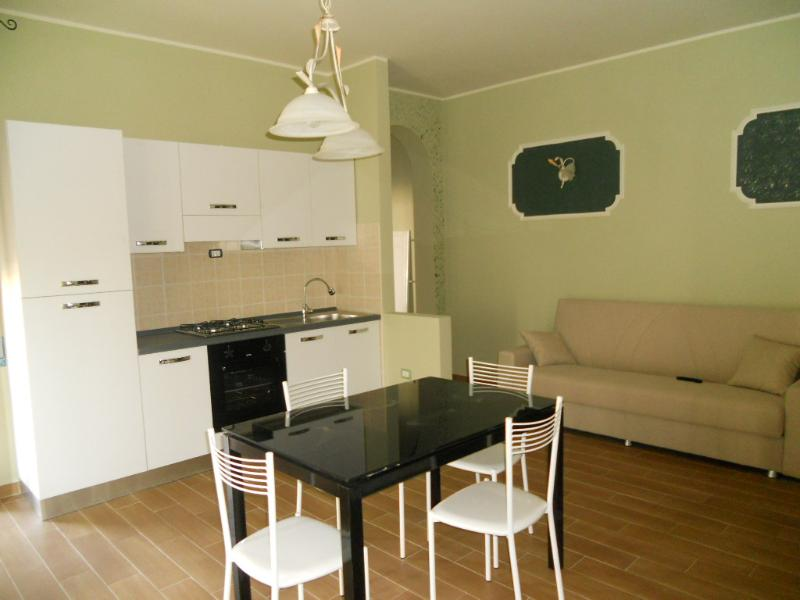 Kitchen and dining area - Abruzzo, brand new flat at 2,5 km from the beach. - San Salvo - rentals