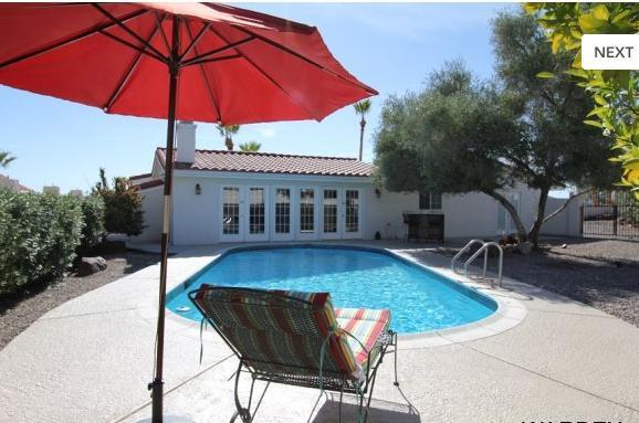 Private backyard pool area - Luxurious 3bed/3bath home w/ POOL & huge bar area - Lake Havasu City - rentals