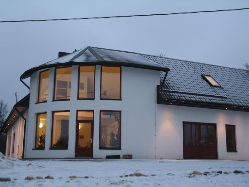 Maza kapa main entrance - Latvia Koknese guest house Maza kapa - Koknese - rentals